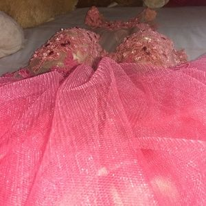 Dresses & Skirts - Pink dress ( could use for a 15)